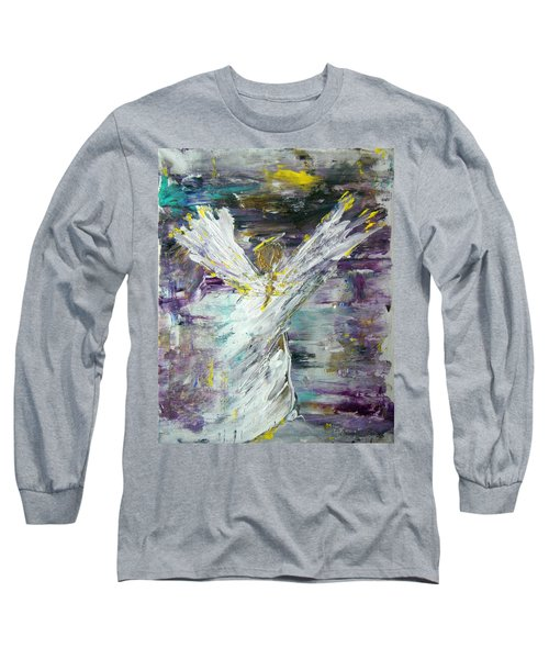 Friends Are Angels Long Sleeve T-Shirt