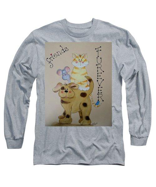 Friends Furever Long Sleeve T-Shirt