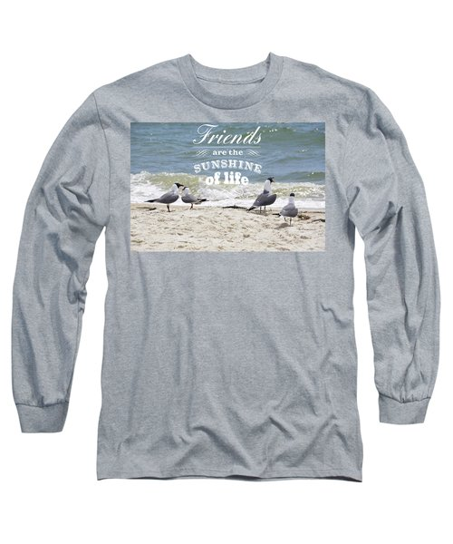 Long Sleeve T-Shirt featuring the photograph Friends In Life by Jan Amiss Photography