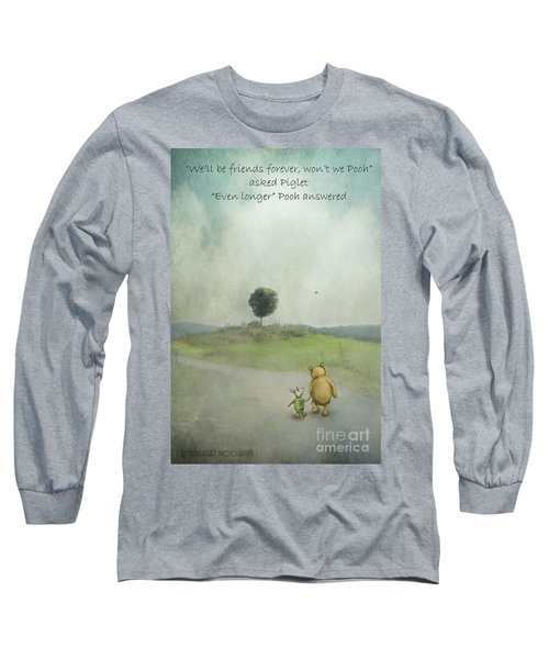 Friendship Long Sleeve T-Shirt by Kathy Russell