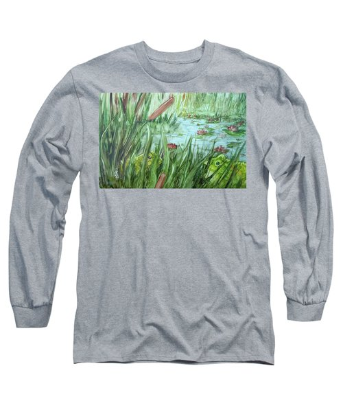 Frog Went A-courtin Long Sleeve T-Shirt