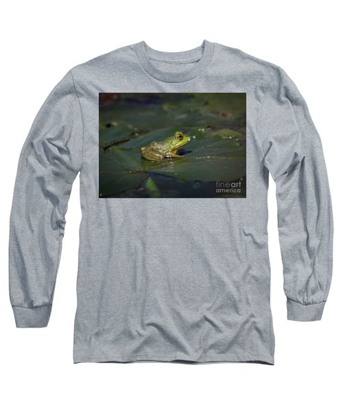 Froggy 2 Long Sleeve T-Shirt by Douglas Stucky