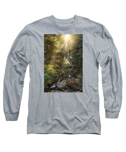 From Above Long Sleeve T-Shirt by James Heckt