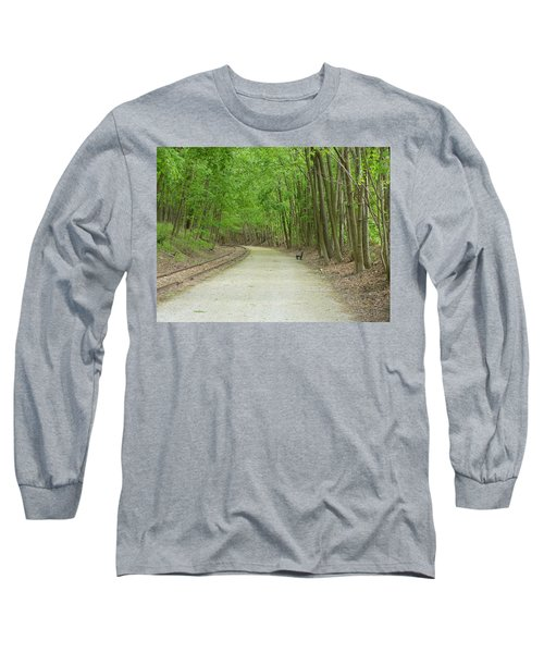 From The Summit Long Sleeve T-Shirt by Donald C Morgan