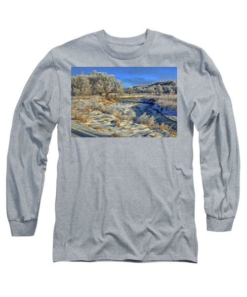 Frost Along The Creek Long Sleeve T-Shirt