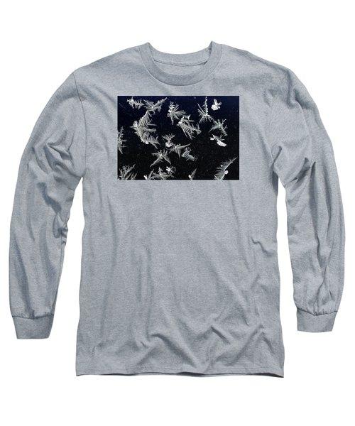 Frost On Car Window 4 Long Sleeve T-Shirt