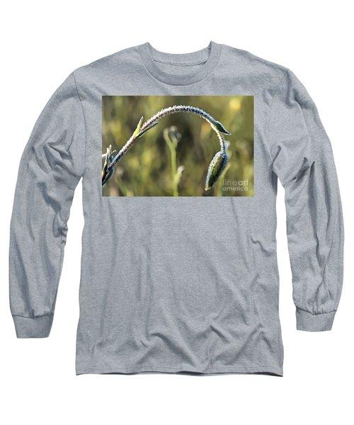 Frost On Flower Long Sleeve T-Shirt