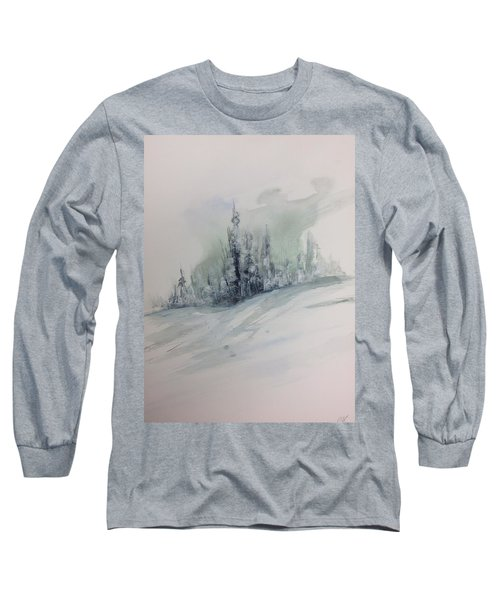 Frost On The Pines Long Sleeve T-Shirt