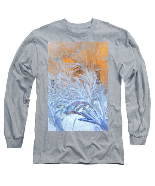 Frost Patterns On Window Long Sleeve T-Shirt