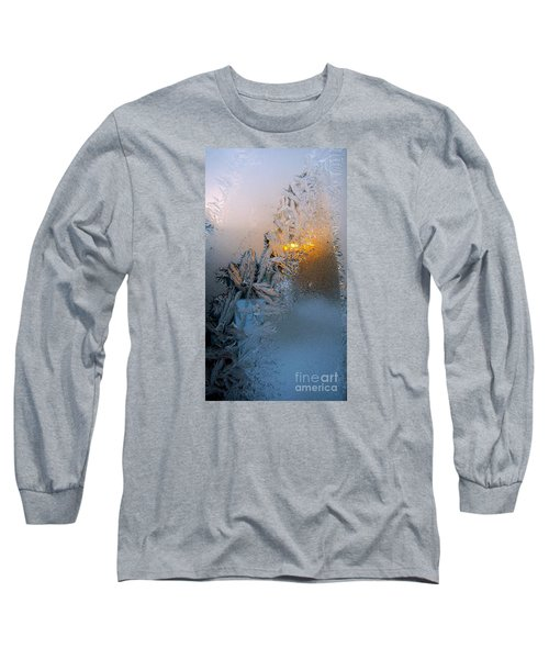 Frost Warning Long Sleeve T-Shirt by Pamela Clements