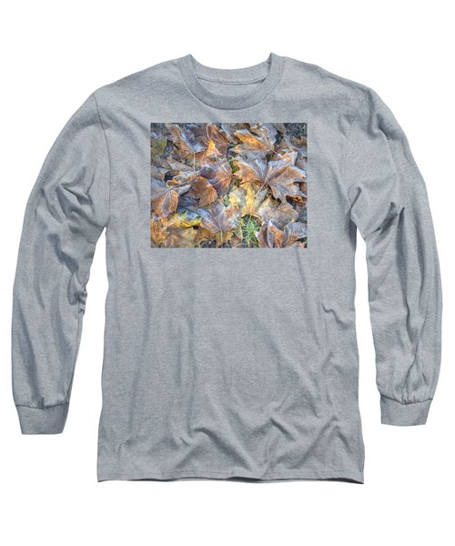 Frosted Leaves 8x10 Long Sleeve T-Shirt