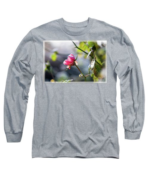 Frosted Rose Long Sleeve T-Shirt