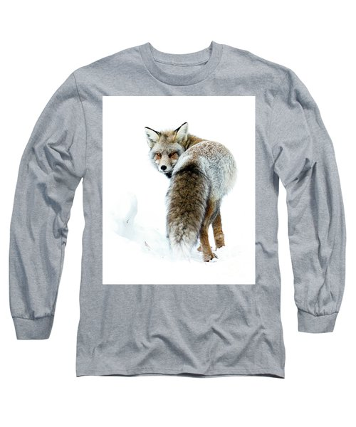 Frosty Fox Long Sleeve T-Shirt
