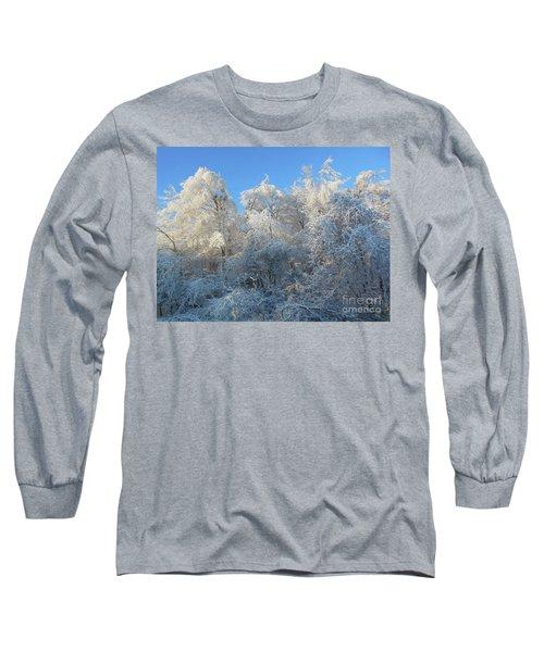 Frosty Trees Long Sleeve T-Shirt