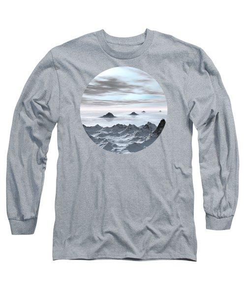 Frozen Arctic Sea Long Sleeve T-Shirt