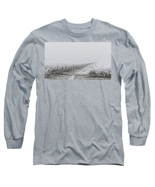 Frozen Blueberry Mist Long Sleeve T-Shirt