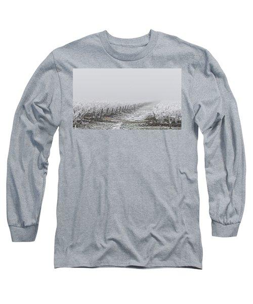 Frozen Blueberry Mist Long Sleeve T-Shirt