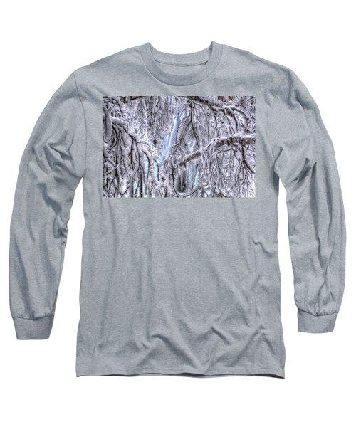 Frozen Falls Long Sleeve T-Shirt by Fiskr Larsen