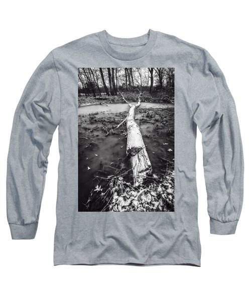 Frozen Landscape Long Sleeve T-Shirt