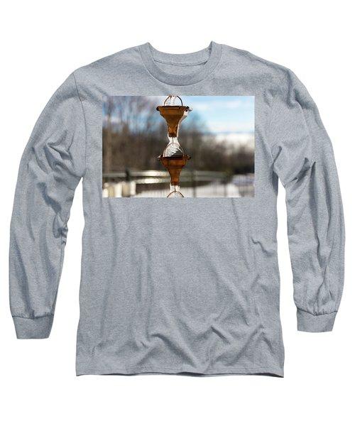 Frozen Rain Chains Long Sleeve T-Shirt