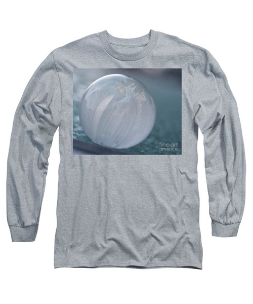 Frozen Soap Bubble -georgia Long Sleeve T-Shirt