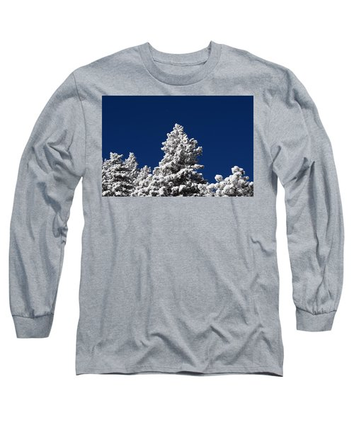 Frozen Tranquility Ute Pass Cos Co Long Sleeve T-Shirt