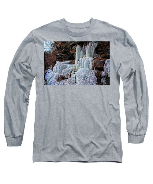 Frozen Waterfall Long Sleeve T-Shirt