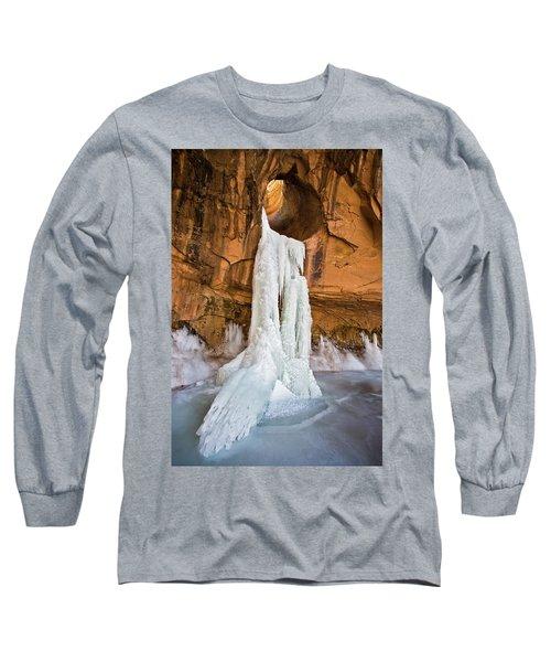 Frozen Waterfall Long Sleeve T-Shirt
