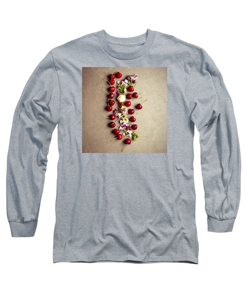 Fruit Art Long Sleeve T-Shirt by Nicole English