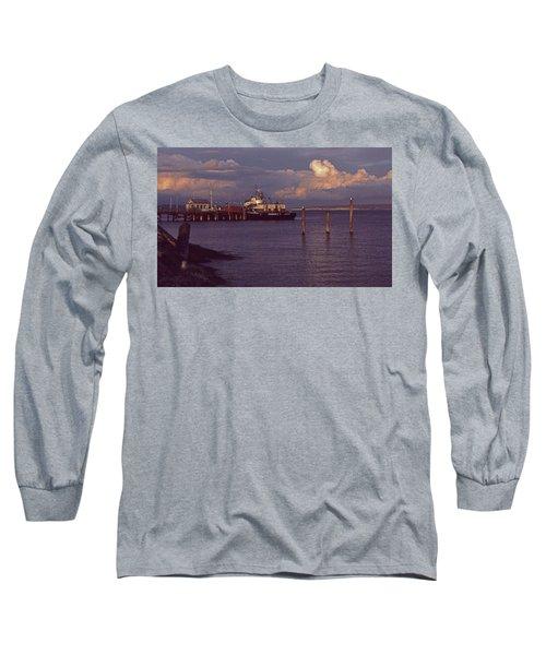 Fuel Dock, Port Townsend Long Sleeve T-Shirt