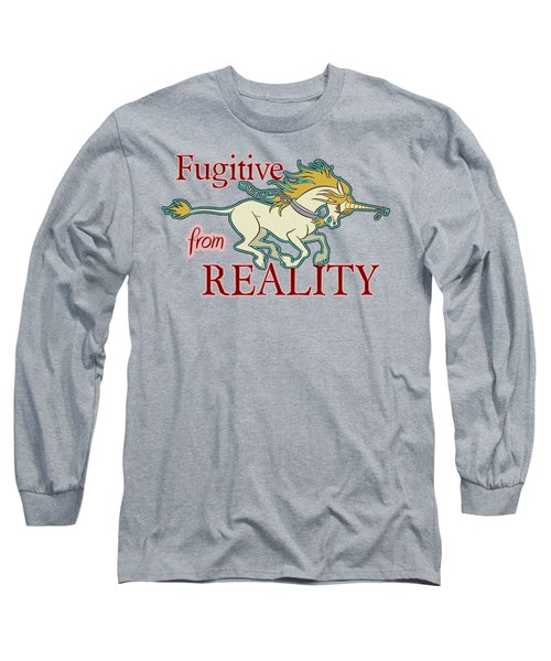 Fugitive Unicorn Long Sleeve T-Shirt