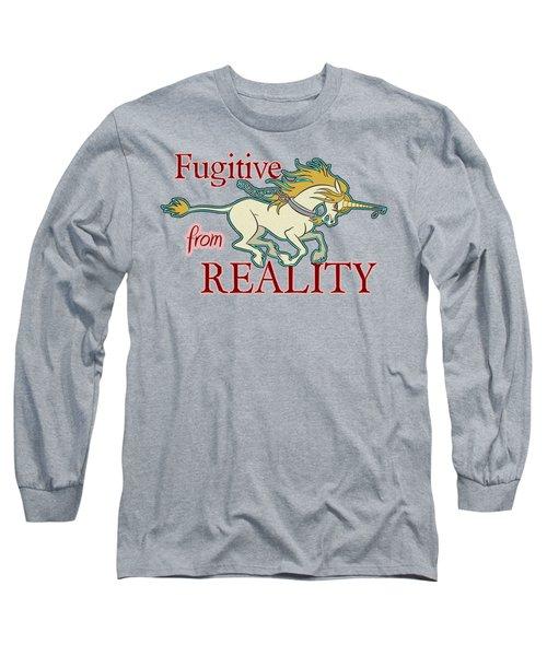 Fugitive Unicorn Long Sleeve T-Shirt