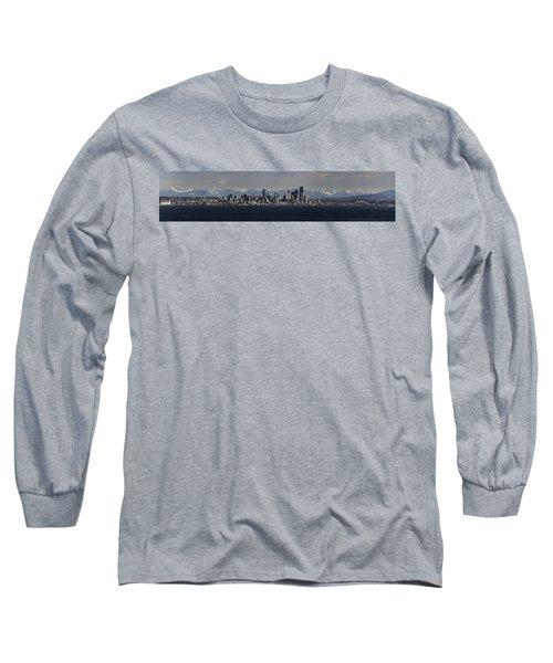 Full Frontal Seattle Long Sleeve T-Shirt