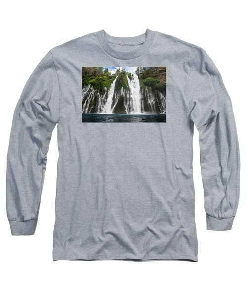 Full Frontal View Long Sleeve T-Shirt by Greg Nyquist