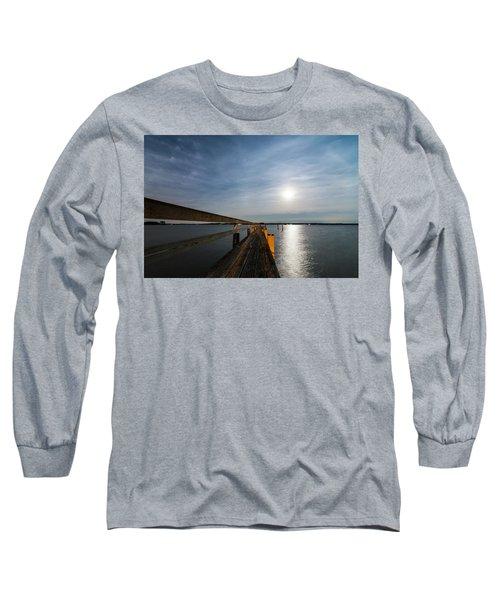 Full Moon Pier Long Sleeve T-Shirt
