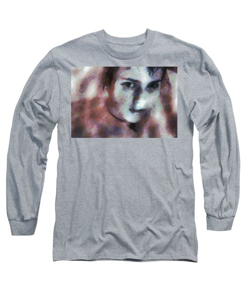 Long Sleeve T-Shirt featuring the digital art Full Of Expectation by Gun Legler