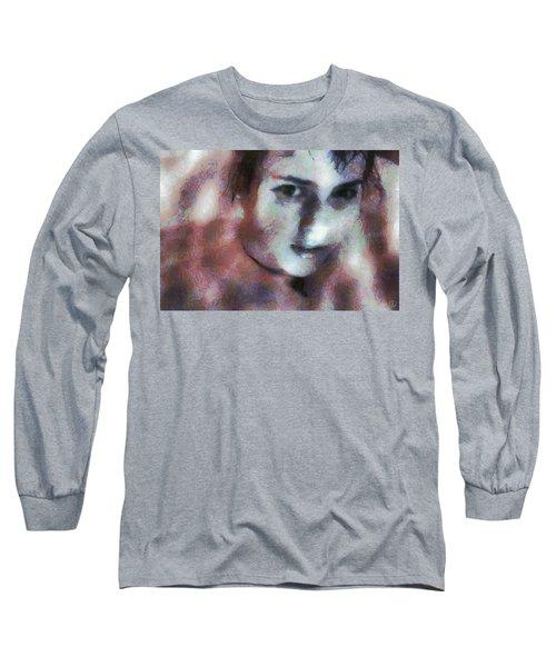 Full Of Expectation Long Sleeve T-Shirt by Gun Legler