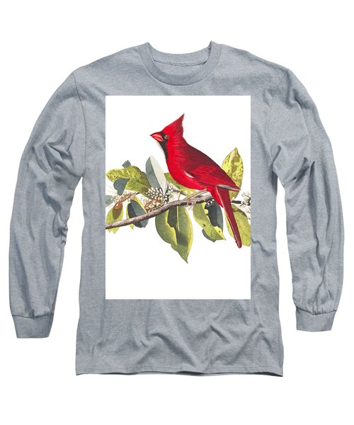 Long Sleeve T-Shirt featuring the photograph Full Red by Munir Alawi