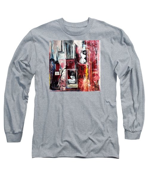 Fully Self-contained Long Sleeve T-Shirt by Helen Syron