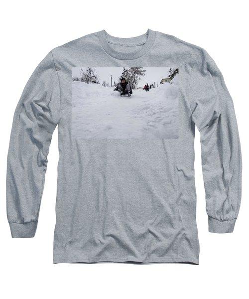 Fun On Snow-3 Long Sleeve T-Shirt
