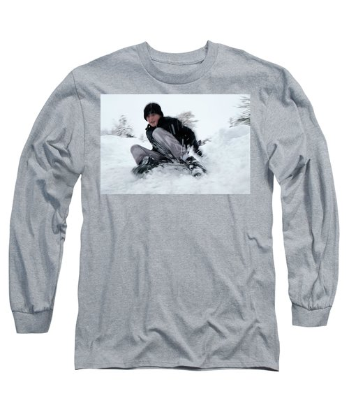 Fun On Snow-4 Long Sleeve T-Shirt