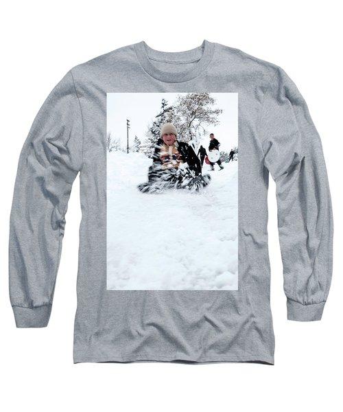 Fun On Snow-5 Long Sleeve T-Shirt