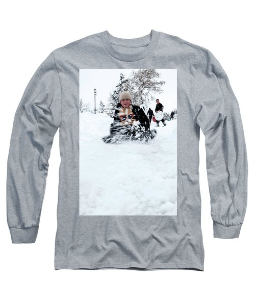 Fun On Snow-5 Long Sleeve T-Shirt