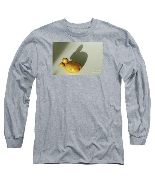Funny Bunny Shadow Potato Long Sleeve T-Shirt
