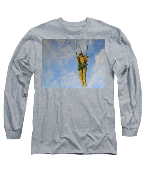Fury From The Sky  Long Sleeve T-Shirt