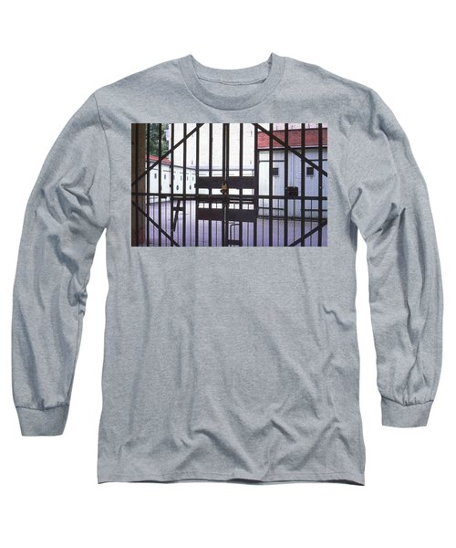 Garages And Gate Long Sleeve T-Shirt