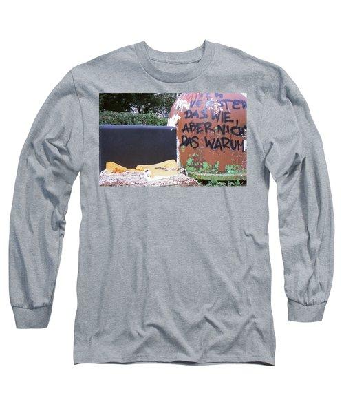 Garbage Message Long Sleeve T-Shirt