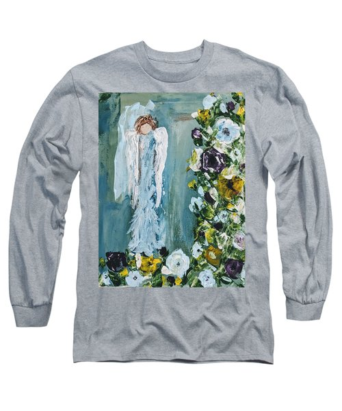 Garden Angel Long Sleeve T-Shirt