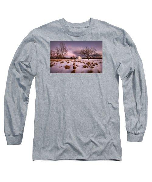 Garden Barn Long Sleeve T-Shirt by Robert Clifford