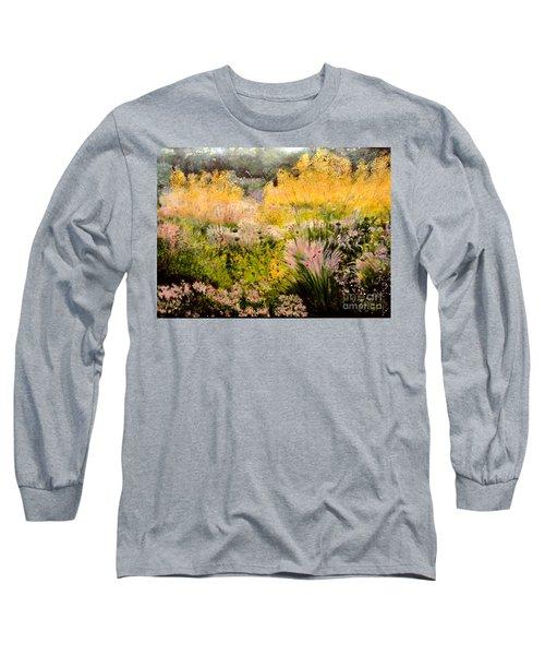 Garden In Northern Light Long Sleeve T-Shirt